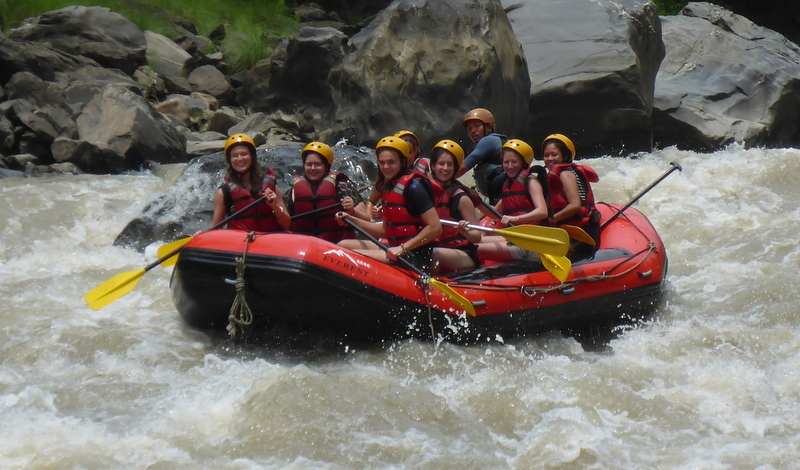 rafting excerusion