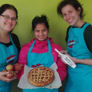 Unforgettable Moments INSPIREbakery with volunteers
